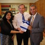 Abbott meets AIBC leaders