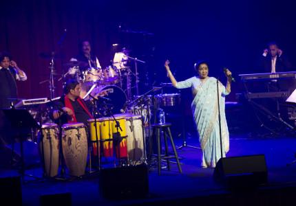 Asha Bhosle at the Sydney Opera House