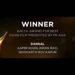 Video: Dangal Wins Best Asian Film Award At AACTA Awards 2017, Sydney