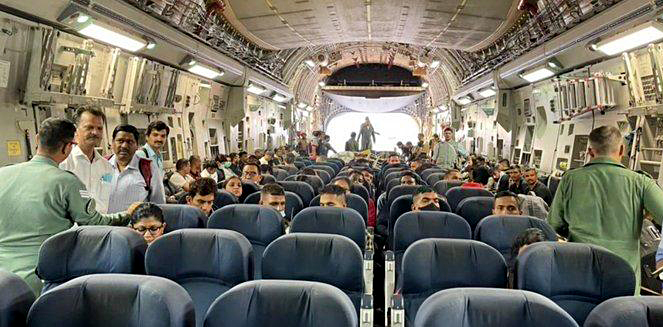 IAF C17 GlobeMaster Carrying Indian National From Kabul