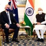 ScoMo-Modi meet ahead of Quad meeting : Discussion on AUKUS 'well received'- Scott Morrison